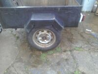 A camping or general use trailer inderpentent surspention
