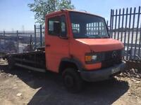 Mercedes 709 d recovery truck spares or repairs