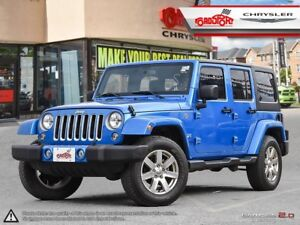 2016 Jeep Wrangler Sahara UNLIMITED 4 DOOR NAVI TWO TOPS H-TD SE