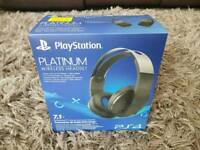 PlayStation Platinum 7.1 Wireless Headset
