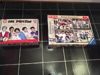 One Direction Jigsaw & Board Game. Immaculate Condition. £5 Each Or £8 For Both