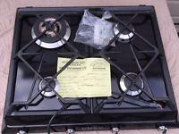 SMEG SR964NGH Black 4 Burner Gas Hob BRAND NEW