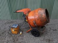 Belle Minimix 150 Cement Mixer - 110v with Transformer