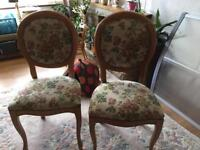Scar top chairs