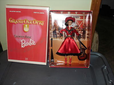 COUNTRY ROSE BARBIE GRAND OLE OPRY MIB 1st IN SERIES