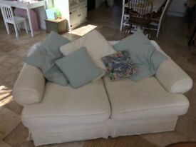 FREE Fabric 2 Seater Sofa
