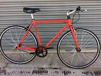 NEW CUSTOM MANGO FIXIE BIKE - FREE DELIVERY TO OXFORD!
