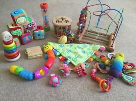 Baby toy bundle.