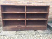 Oak bookcase - ready for shabby chic?