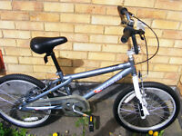 """20"""" WHEEL BMX BIKE IN GREAT WORKING ORDER HARDLY USED AGE 7+"""