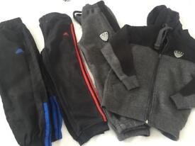 Boys tracksuit trousers bundle