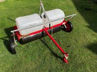 "Lawn Tractor grass care system, 40"" Heavy Duty Scarifier/Roller."