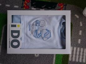 Brand new iDO by MINICONF baby boy suit 3 months