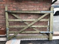 Wooden Barn Gate with fixings