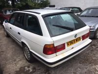 [Simmons BMW Livingston] BREAKING BMW E34 5 series 525i Auto Saloon & Touring Calypso Red