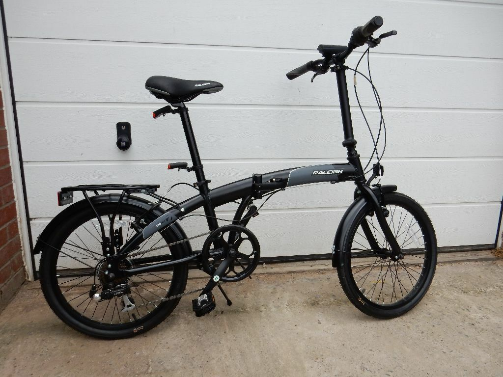 Raleigh Stowaway Folding Bicycles Nearly New Condition