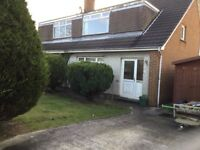 Semi detached house to let unfurnished