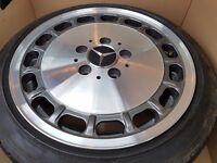 Mercedes diamond cut alloys set of 5