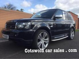 O6-55 Range Rover sport v8 supercharged 42000 miles 1 owner full history !!!!!!!