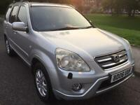 2006 HONDA CR-V-CTDI EXECUTIVE SUV 2.2 DIESEL ONE OWNER FROM NEW SERVICE HISTORY 6 SPEED GEARBOX***
