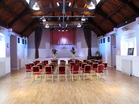 Halls for hire for parties and business meetings at Subud Barnet Centre
