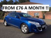 2010 RENAULT MEGANE DYNAMIQUE TOMTOM 1.5 DCI ** FULL RENAULT SERVICE HISTORY ** ALL CAARDS ACCEPTED