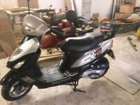 Baotian 50cc scooter full years mot