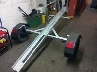 Single bike trailer like brand new, heavy duty CHEAP