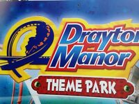 Drayton Manor theme park tickets