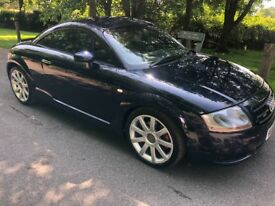 Audi TT Quattro. (225BHP). Full service history. MOT to March. Cambelt and clutch recently changed