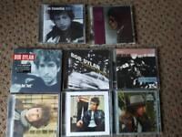8 bob Dylan CD albums