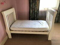 Cot Bed and changing table - Little White Company HODDESDON/HERTS