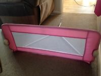 Tomy universal bed rail- pink
