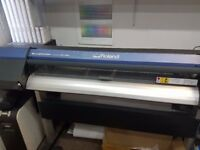 Roland VersaWorks VS-420 Printer and Cutter For Sale Good Condition