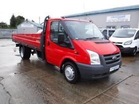 "**CROSSGAR COMMERCIALS** FORD TRANSIT 350 DROPSIDE 115 BHP WITH 13ft 2"" DROPSIDE BODY"