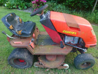 Ride on mowers, Countax 14hp and Wheelhorse 227 5 Spares or repair