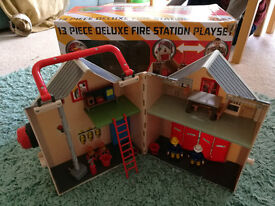 Fireman Sam Deluxe FireStation, Sea Rescue, Air Rescue Sets (Very Good Condition)