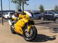 Ducati 900ss i.e., 1998, Full MoT...