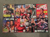 WWF & WWE magazine bundle - collection- LoT- WWE