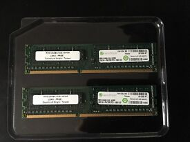 8gb (4X2)DDR3 memory cards