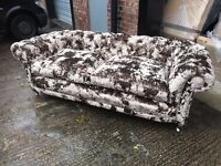 velvet chesterfield 3 seater sofa £899