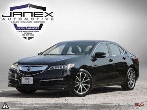 2017 Acura TLX BLACK ON BLACK   R.CAM   HEATED MEMORY SEATS  ...