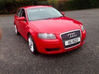 2007 AUDI A3 1.9 TDI 3 DOOR MAY PART EXCHANGE MOT TO AUG 2018 GREAT DRIVING CAR