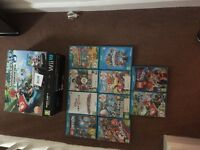 Nintendo Wii U Mario Kart 8 edition great working order with lots of games
