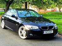 ★ WARRANTY ★ 2011 BMW 3 SERIES 320i M SPORT COUPE 2.0 ★ FACE LIFT E92 ★19 INCH ALLOYS