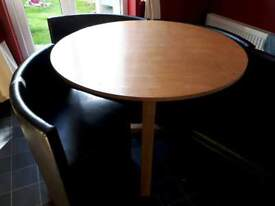 Space saver kitchen table and chairs Collection Only