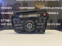 HONDA INSIGHT RADIO STEREO CD PLAYER 2009-2015