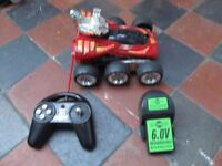 REMOTE CONTROLLED SIX WHEELER