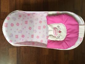 baby bath seat with removable cover