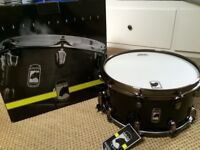 """Brand new Mapex Black Panther """"Fat Bob"""" snare drum"""